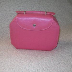 Jeun Bang Pink Multiple Compartment Jewelry Case
